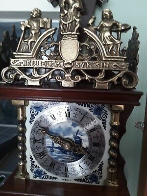 vintage Dutch zandaam wall clock
