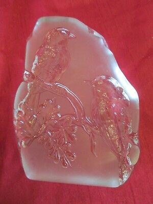 cut glass paper weight