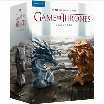 Game of Thrones: The Complete Seasons 1-7 Boxset (Blu-ray Disc, 2017, 40-Disc)