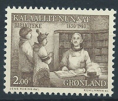 GREENLAND 1980 SG125 150th Anniv of Greenland Public Libraries Mint MNH