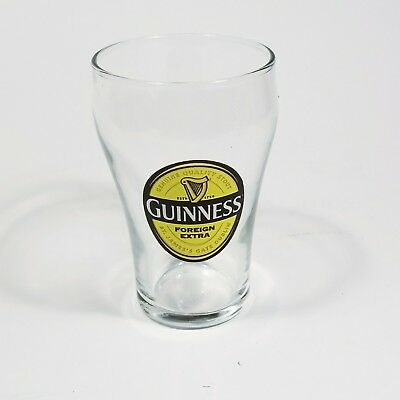Guinness Foreign Extra Taster Beer Glass Ireland