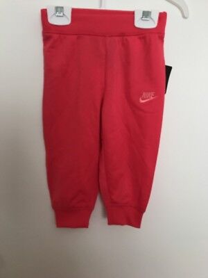 Baby Girls Nike Tracksuit Bottoms Size 12 Months