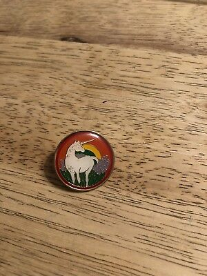 Vintage UNICORN Enamel Pin