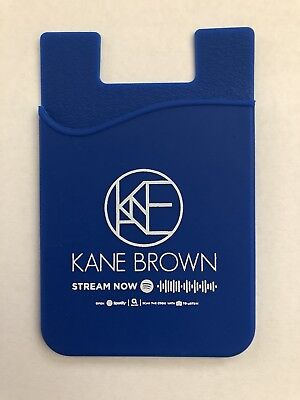 Kane Brown Country Star Silicone Credit Card Pocket Holder Case For Cell Phone