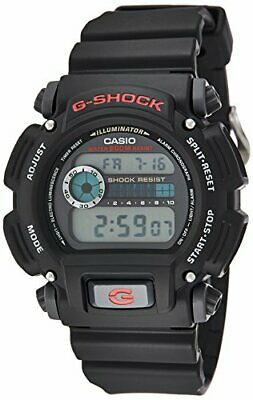 Casio DW9052-1V Men's Classic Alarm Chronograph Black G Shock Watch