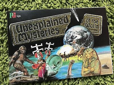 PG Tips Tea UNEXPLAINED MYSTERIES of the WORLD Album & Cards COMPLETE EX COND