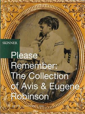 Skinner The Avis & Eugene Robinson Collection Auction Catalog 2018