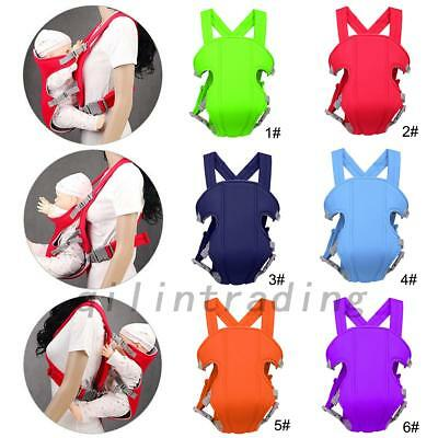 Adjustable Infant Baby Carrier Wrap Sling Newborn Backpack Breathable 0-3 Years
