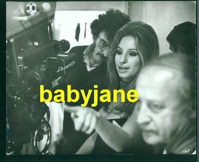 Barbra Streisand Vintage 8X10 Photo 1970 Behind Scenes The Owl And The Pussycat
