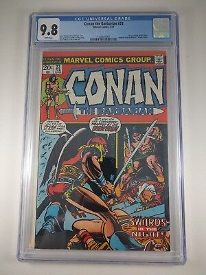 Conan the Barbarian #23 (1973, Marvel) CGC 9.8 1st appearance Red Sonja