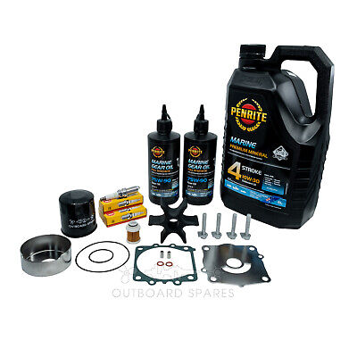 Yamaha Annual Service Kit with Oils for F115hp 4 Stroke Outboard
