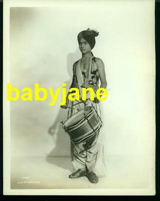 Sabu Vintage 8X10 Photo Child Actor 1938 Drum Linen Backed Double Weight