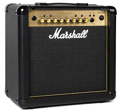 """Marshall MG15GFX Guitar Combo Amp 15W 1x8"""" Amplifier with Effects MG-15 GFX"""