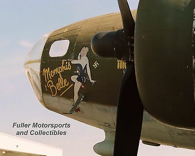 B-17 Bomber Memphis Belle Flying Fortress Wwii 8X10 Photo Us Air Force