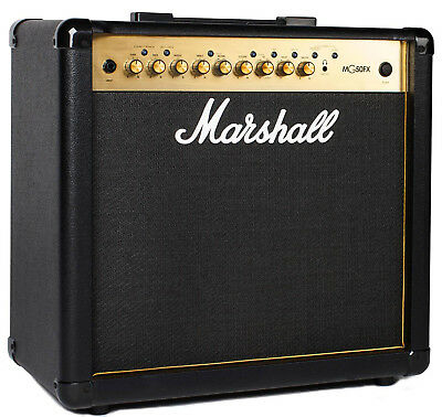 """Marshall MG50GFX Guitar Combo Amp 50W 1x12"""" Amplifier with Effects MG-50 GFX"""