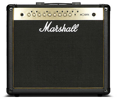 """Marshall MG101GFX Guitar Combo Amp 100W 1x12"""" Amplifier with Effects MG-101 GFX"""