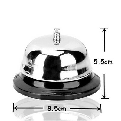 Hotel Service Steel Bell Call Ringer Ring Reception Restaurant Desk Kitchen Tool