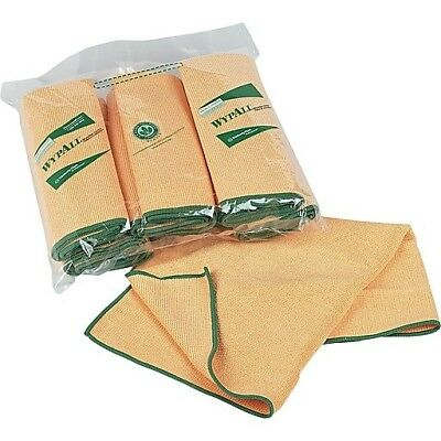 Wypall Microfiber Cloths with Microban, Yellow, 6 roll pk (KCC83610)
