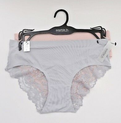 Sophie B Intimates 4-pack Seamless Hipsters Panty Multicolor Size M or L Z61217