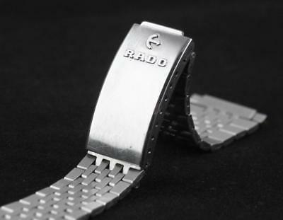 Vintage c1970's RADO WATCH BAND /BRACELET -Stainless Steel, with End Links, 17cm