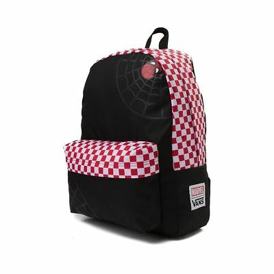 7c7ef5ccb55c Vans Off The Wall X Marvel Spidey Spider-Man Realm Backpack - Black Racing  Red