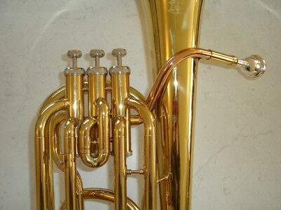 """Bb Three Valve Baritone Horn, from """"I&K Music"""" a Melbourne based Supplier"""