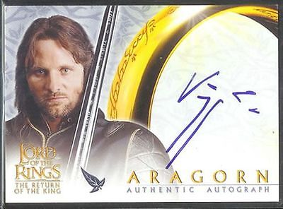 Lotr Rotk Return Of The King Auto Viggo Mortensen / Arago