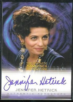 Quotable Star Trek DS9 Auto Jennifer Hetrick Vash