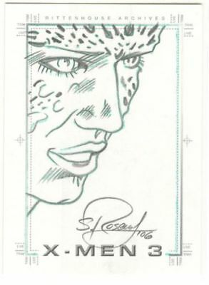 X-Men 3 The Last Stand Sketch Mystique Scott Rosema