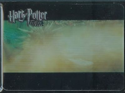 Harry Potter Goblet Fire Lenticular Estuche Funda Dragon