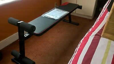 Domyos Ba 100 Fold Down Weight Bench Brand New 30 00 Picclick Uk