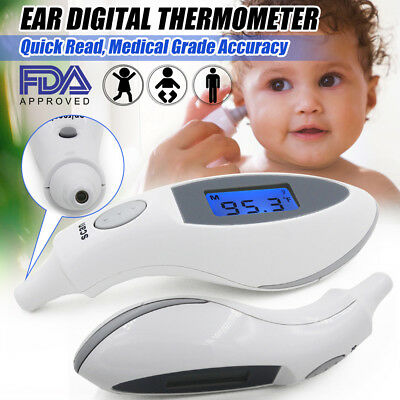 Digital Ear Thermometer Baby Child Infant Kids Medical Infrared For Home Use FDA