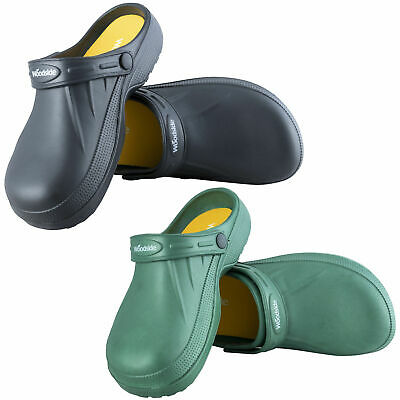 Woodside Men's/Women's Slip On Garden Clog Mule Work Shoes