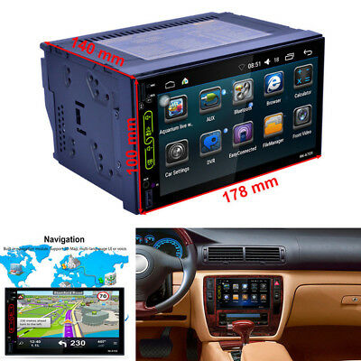 """7"""" TFT Touch Screen Car Radio Multimedia MP5 Player GPS Android WIFI Bluetooth"""