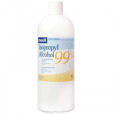 Isopropyl Alcohol 99% (4x1L) 1.06 Gallons- Best Price on Ebay  +