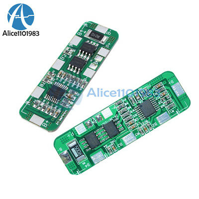 3S/4S PCB BMS Protection Board 4A 5A for 3/4 Packs 18650 Li-ion lithium Battery