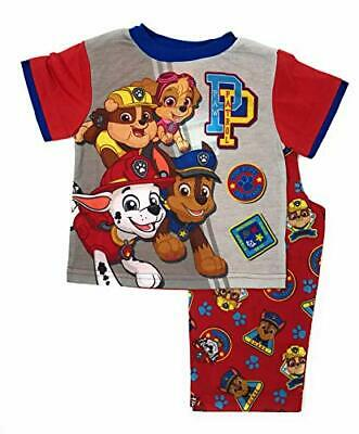 Paw Patrol Toddler Boy's Top Pups Go Team Polyester Pajama Set