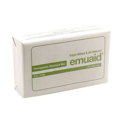 EMUAID Therapeutic Moisture Bar, 142g Bar - For Rosacea Acne Eczema Psoriasis