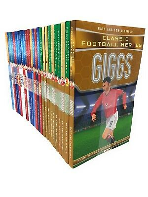 Ultimate And Classic Football Heroes Series 1 & 2 - 26 Books Set Collection ...