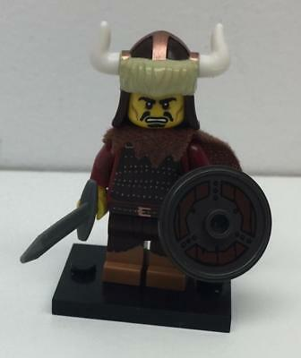LEGO Collectible Minifigure Series 12 HUN WARRIOR  100/% Complete w// Stand