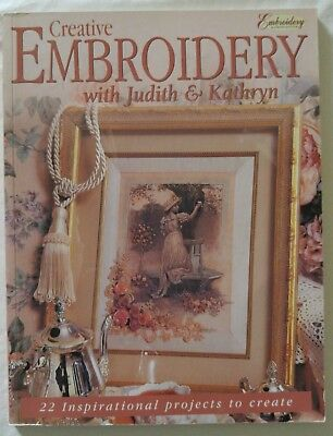 Victorian Ribbon CREATIVE EMBROIDERY Pattern Book Judith & Kathryn 22 Projects