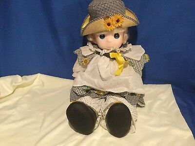 """Precious Moments Sunshine Doll 1994 #1604 26"""" Tall Limited to 450"""