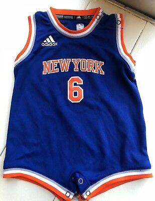 Authentic Adidas, Toddler NY Knicks One-piece/Jersey, Size 18 Months