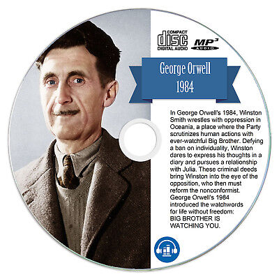 1984 by George Orwell MP3 CD Audio Book