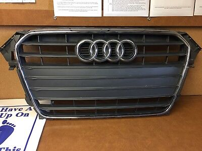 2013 Audi A4 Premium Plus Sedan Grille W/ Backing Plate And Emblem