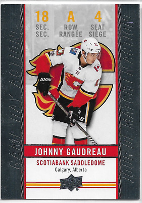 2018-19 18/19 Upper Deck Tim Hortons Game Day Action GDA-4 Johnny Gaudreau