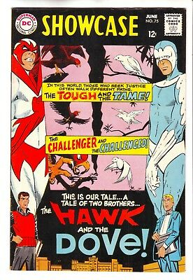 Dc Comics Showcase #75 In Nm Condition - First Appearance Hawk & Dove