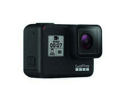 GoPro HERO7 Black wasserdichte Actionkamera Touchscreen 4K 12Mp CHDHX-701-RW