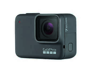 GoPro HERO7 Silver wasserdichte Actionkamera Touchscreen 4K 10MP CHDHC-601-RW