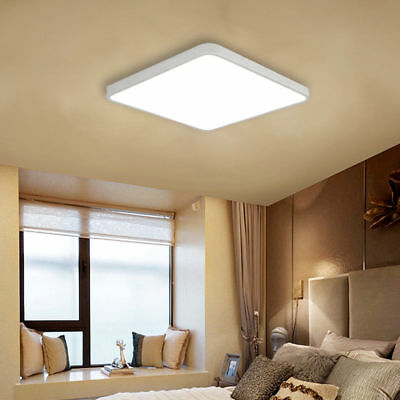 Bright 24W Square LED Ultra-thin Ceiling Down Light Panel Wall Bathroom Lamp
